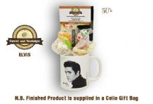 Elvis Mug with/without 1950's Traditional Sweets